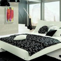 Designer Wooden Bed - 07