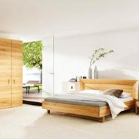 Designer Wooden Bed - 08