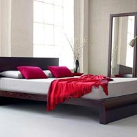 Designer Wooden Bed - 11