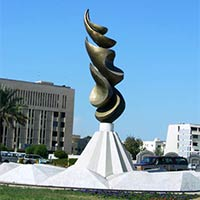 Traffic Circle Statue (Roopsa TC003)