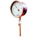 Pressure & Temperature Gauges (Mercury in Metal)