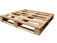 Box Square Rubber Wood Pallets