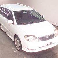 Used 2000 Toyota Corolla Fielder Car