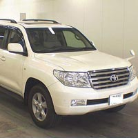 Car Toyota Land Cruiser - RHD Car