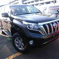 Used 2013 Toyota Land Cruiser Prado Car (Black)