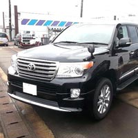 Used 2013 Toyota Land Cruiser Car (Black)