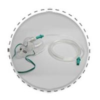 Adult Oxygen Mask Kit with Crush Resistant 02 Tubing