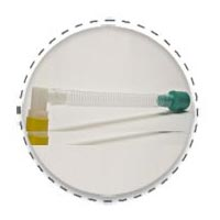 Fixed Elbow Catheter Mount without Port
