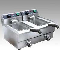Deep Fat Fryer Double (Electric Gas) Table Top