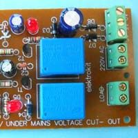 Auto Reset Over/ Under Mains Voltage Cut- Out