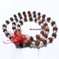 Rudraksha Crystal Rosaries