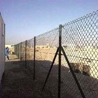 Crowd Control Chain Link Fence