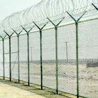 Metal Security Fencing 02