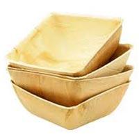 Square Areca Leaf Bowls