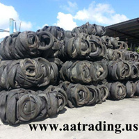 Baled Scrap Tires Supplier