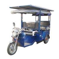Solar Battery Rickshaw 01