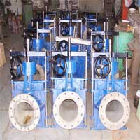 Gear Operated Pinch Valves