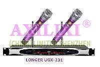 UHF True Diversity Wireless Microphone LONGER UGX-231X3