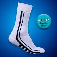 Mens Terry Regular Socks=>Item Code : AP-017