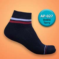 Mens Terry Ankle Socks=>Item Code : AP-027