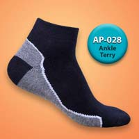 Mens Terry Ankle Socks=>Item Code : AP-028