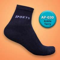 Mens Terry Ankle Socks=>Item Code : AP-030