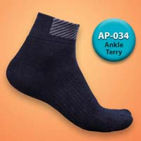Mens Terry Ankle Socks=>Item Code : AP-034