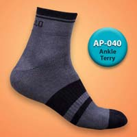Mens Terry Ankle Socks=>Item Code : AP-040