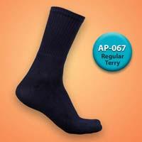 Mens Terry Regular Socks=>Item Code : AP-067