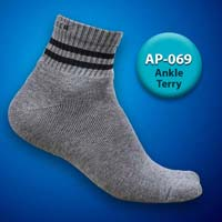 Mens Terry Ankle Socks=>Item Code : AP-069