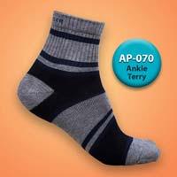 Mens Terry Ankle Socks=>Item Code : AP-070