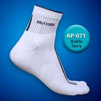 Mens Terry Ankle Socks=>Item Code : AP-071