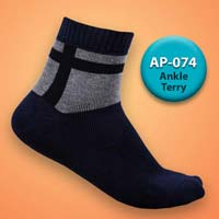Mens Terry Ankle Socks=>Item Code : AP-074