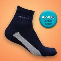 Mens Terry Ankle Socks=>Item Code : AP-075