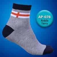 Mens Terry Ankle Socks=>Item Code : AP-078