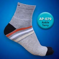 Mens Terry Ankle Socks=>Item Code : AP-079