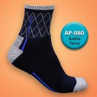 Mens Terry Ankle Socks=>Item Code : AP-080
