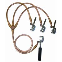 High Voltage Grounding Clamp