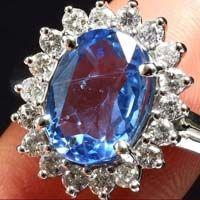 Diamond Gemstone Ring (CWGMGR001)