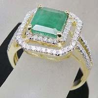 Diamond Gemstone Ring (CWGMGR002)