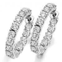Silver CZ Earring (CWCZE266)