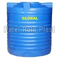 Blue Triple Layer Rotomoulding Water Tank