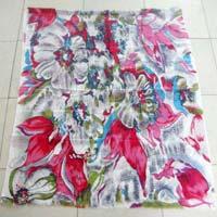 Printed Woolen Scarf 02