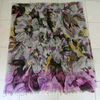 Printed Woolen Scarf 04