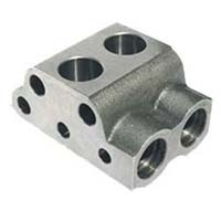 Hydraulic Pump Valve Chamber Body