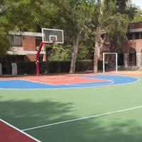 Synthetic Basketball Court Flooring