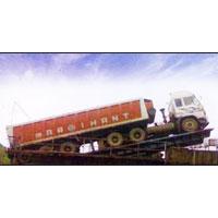 Truck and Trailer Unloader