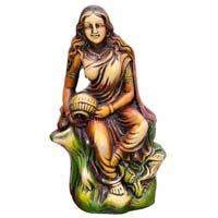 Terracotta Lady Statue