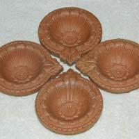 Terracotta Diwali Gift Diya Set