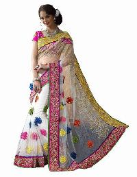 Embroidered Designer Saree 02